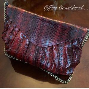 Beirn Snake Skin Bag